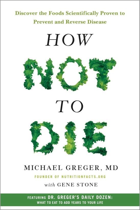 livre How not to die - Docteur Greger