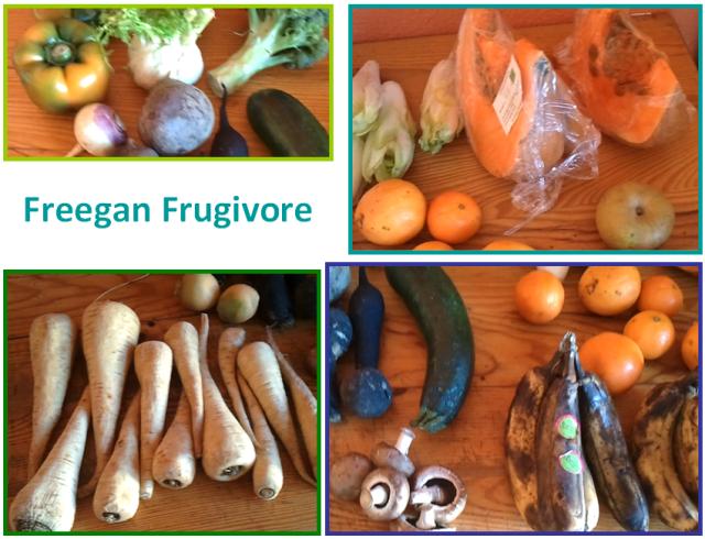 freegan frugivore vegan déchétarisme