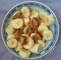 Banane et figue