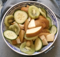 Poires et kiwiw