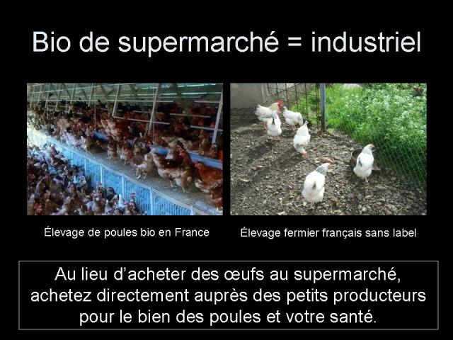 Bio de supermarché = industriel