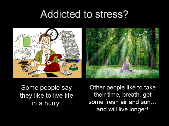 Addicted to stress?