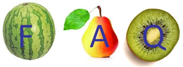 FAQ Fruits