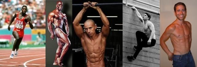 hommes végétaliens sportifs champions vegan frugivores musclés