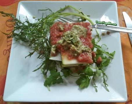 Lasagnes crues végétaliennes