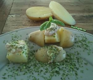 Pommes de terre à la crème végane