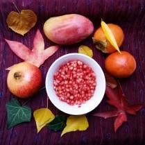 grenade kaki mangue automne