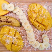 mangue banane coco