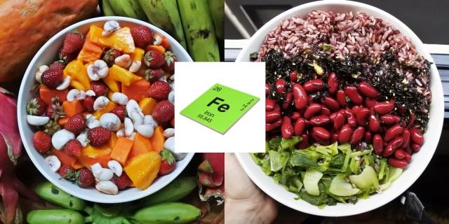 Carence en fer végétarien végétalien